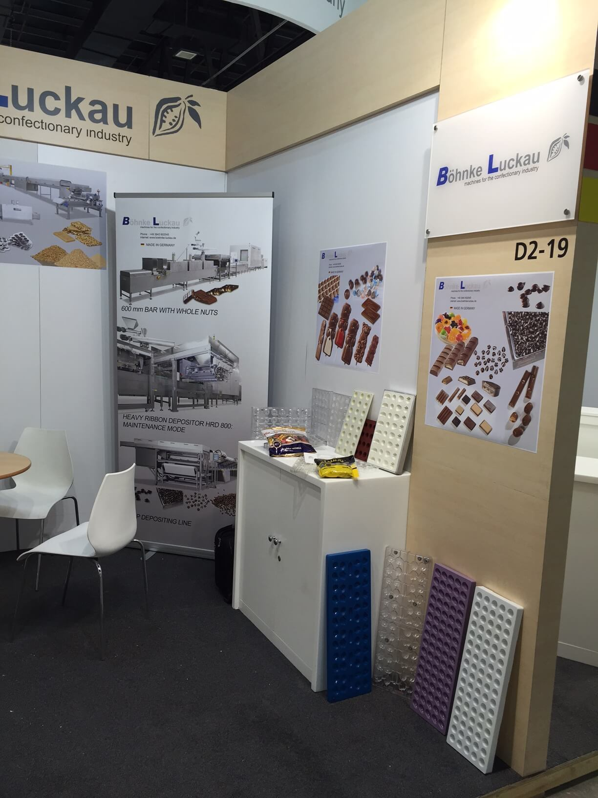 Böhnke & Luckau at the exhibition Dubai fair Gulfood Manufacturing 2016