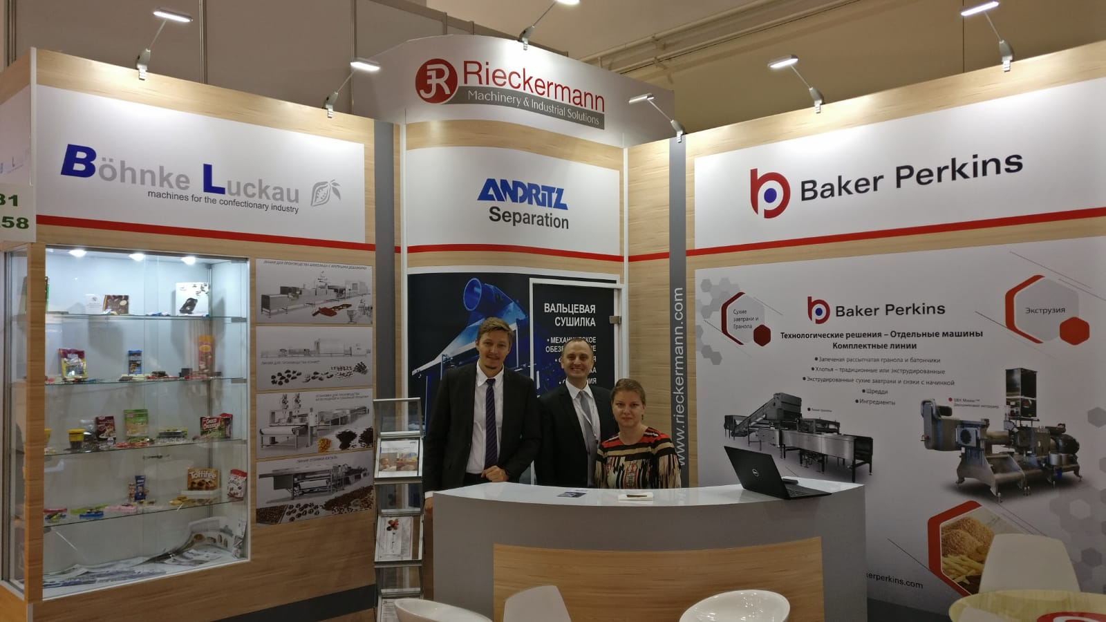 Böhnke & Luckau at the exhibition Agroprodmash Russia 2018