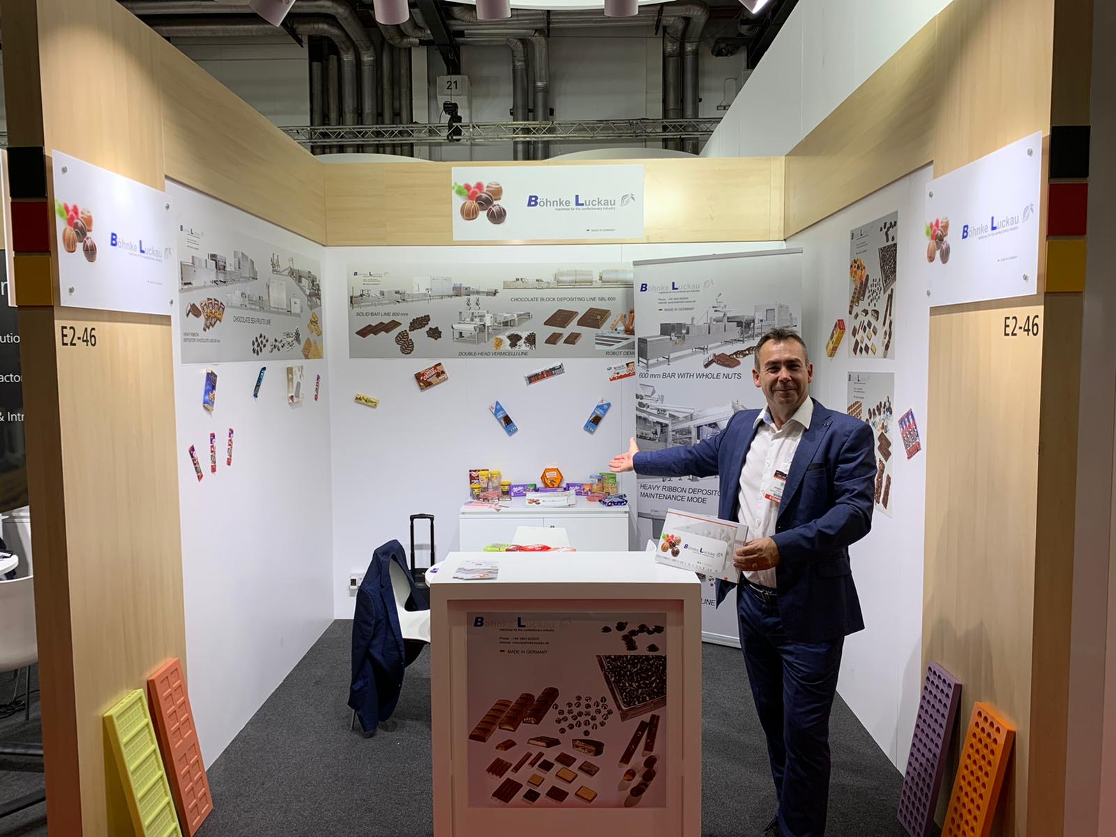 Böhnke & Luckau at the exhibition Dubai fair Gulfood Manufacturing 2019
