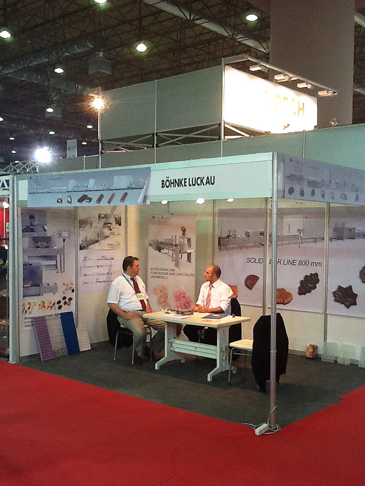 Böhnke & Luckau at the 20th International Foods Products & Processing Technologies Exhibition Istanbul 6-9 September 2012